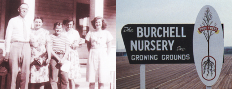 Burchell Nursery Historical Photograph