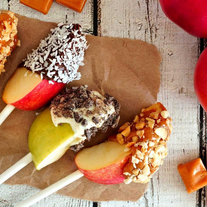 Image of Caramel Apple Wedges - Perfect Holiday Treat