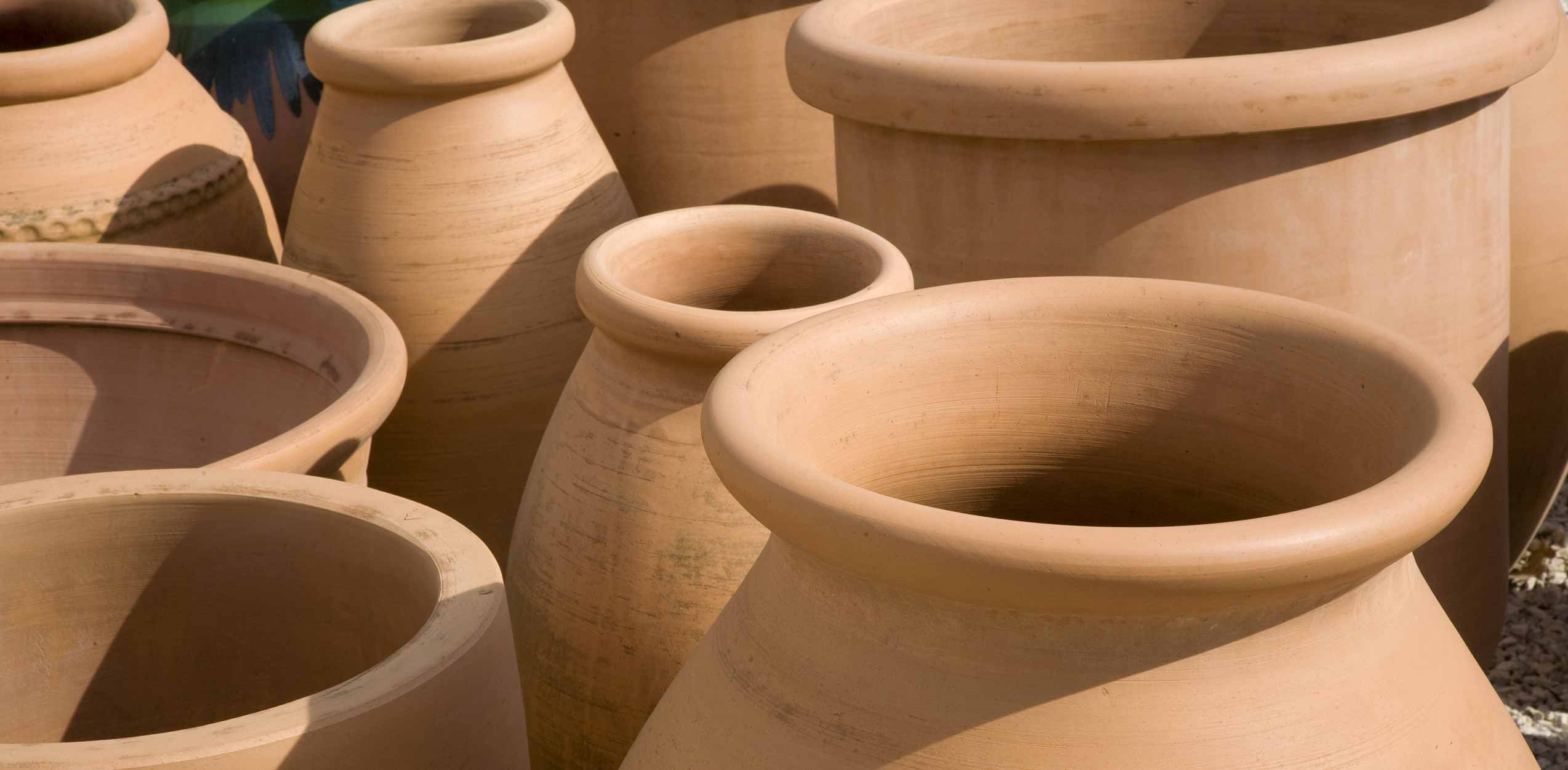 Terra Cotta Planting Container Pots
